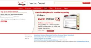 Verizon Email Problems